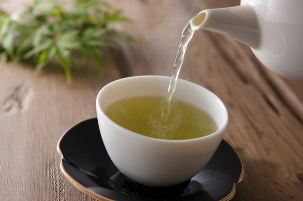 Ceai verde seara